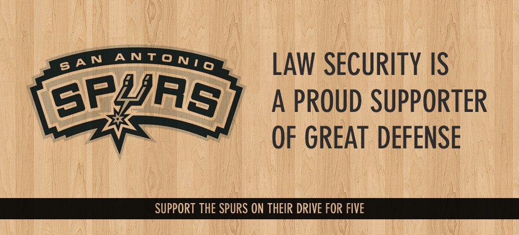 Law Security is a proud supporter of great defense?
